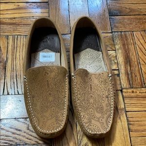 NWT Robert Graham cognac loafers size: 10